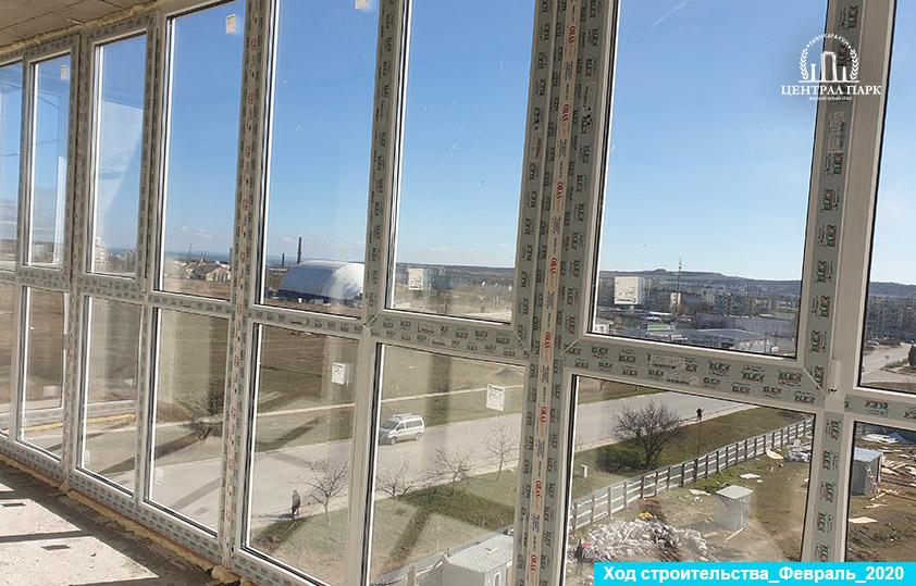 Февраль 2020 ход строительства - Централ Парк